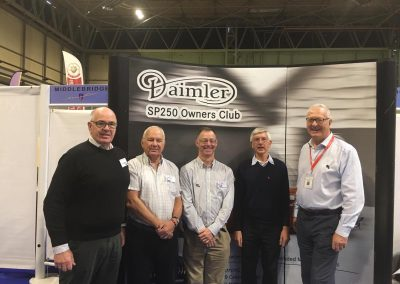 Usual suspects at the NEC Classic car show November 2018